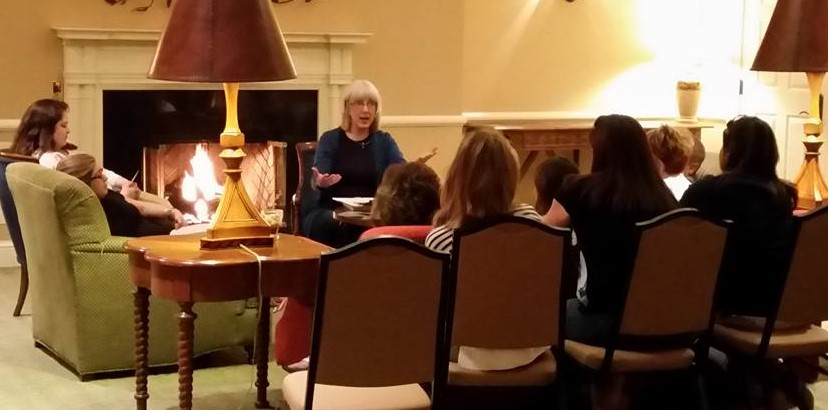 Paula presents at the Lodge at Woodloch 5-16